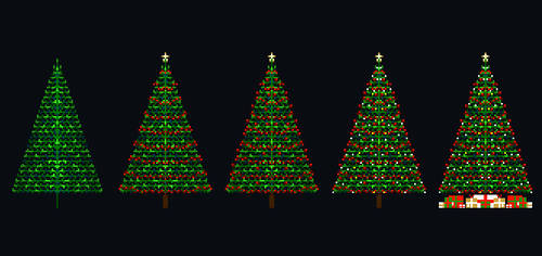 Christmas Tree Symmetry
