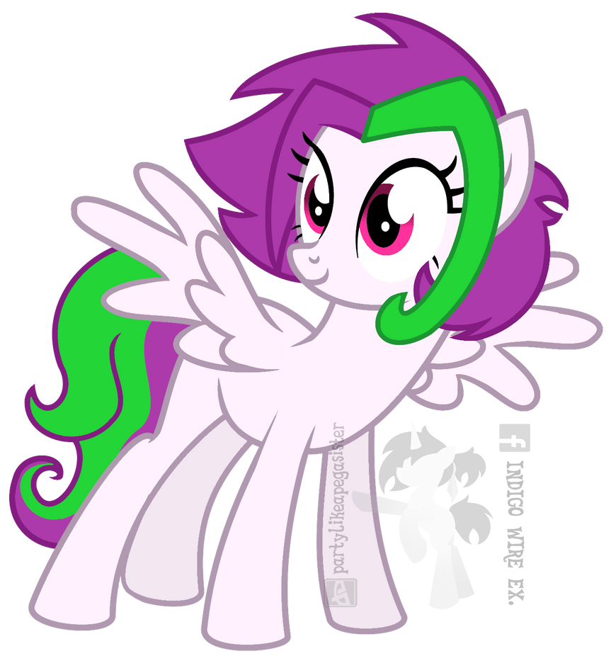 [COMMISSION] Colour Splash - Canon Style by partylikeapegasister