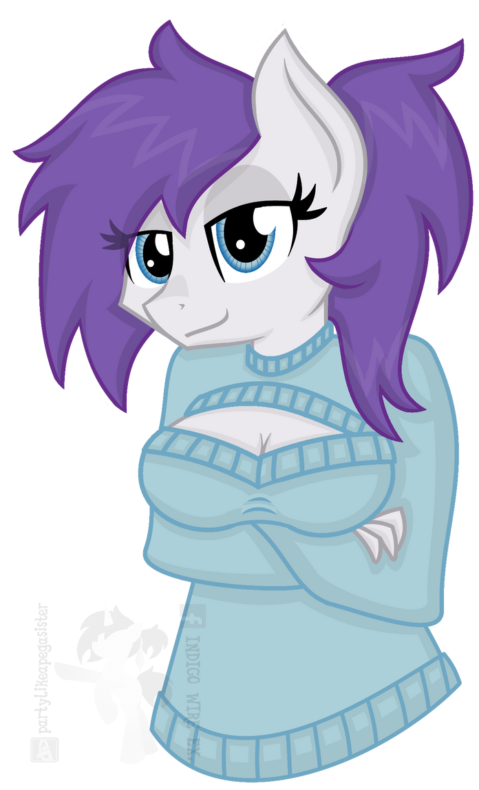 Rarity or Indigo? by partylikeapegasister