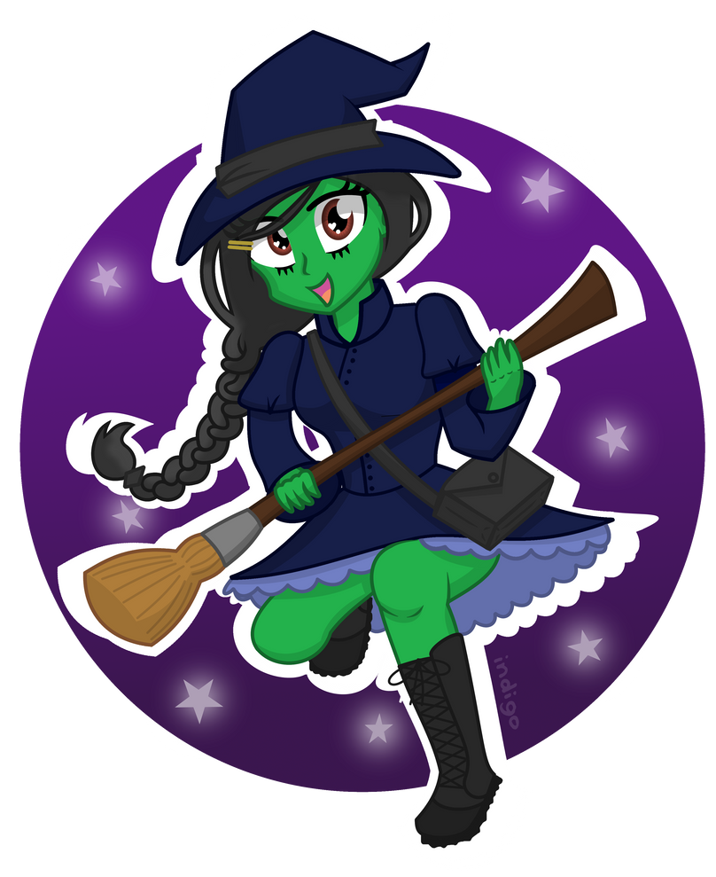 Elphaba - Kiss me Goodbye +SPEED PAINT by partylikeapegasister