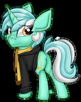 Background Pony by partylikeanartist