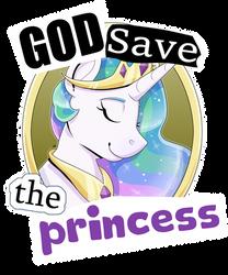 [C] God Save the Princess by partylikeanartist