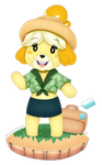 Isabelle - Animal Crossing New Horizons