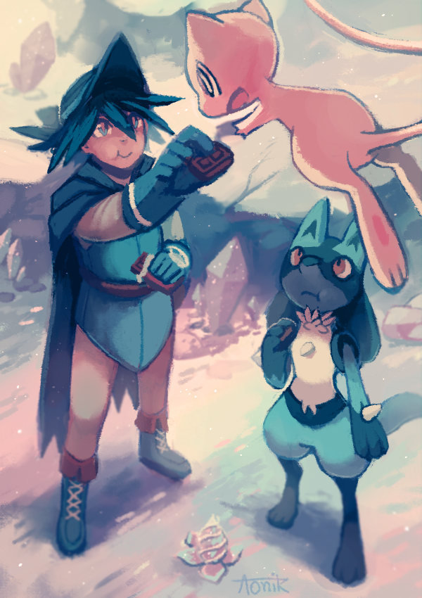 Lucario & The Mystery of Mew