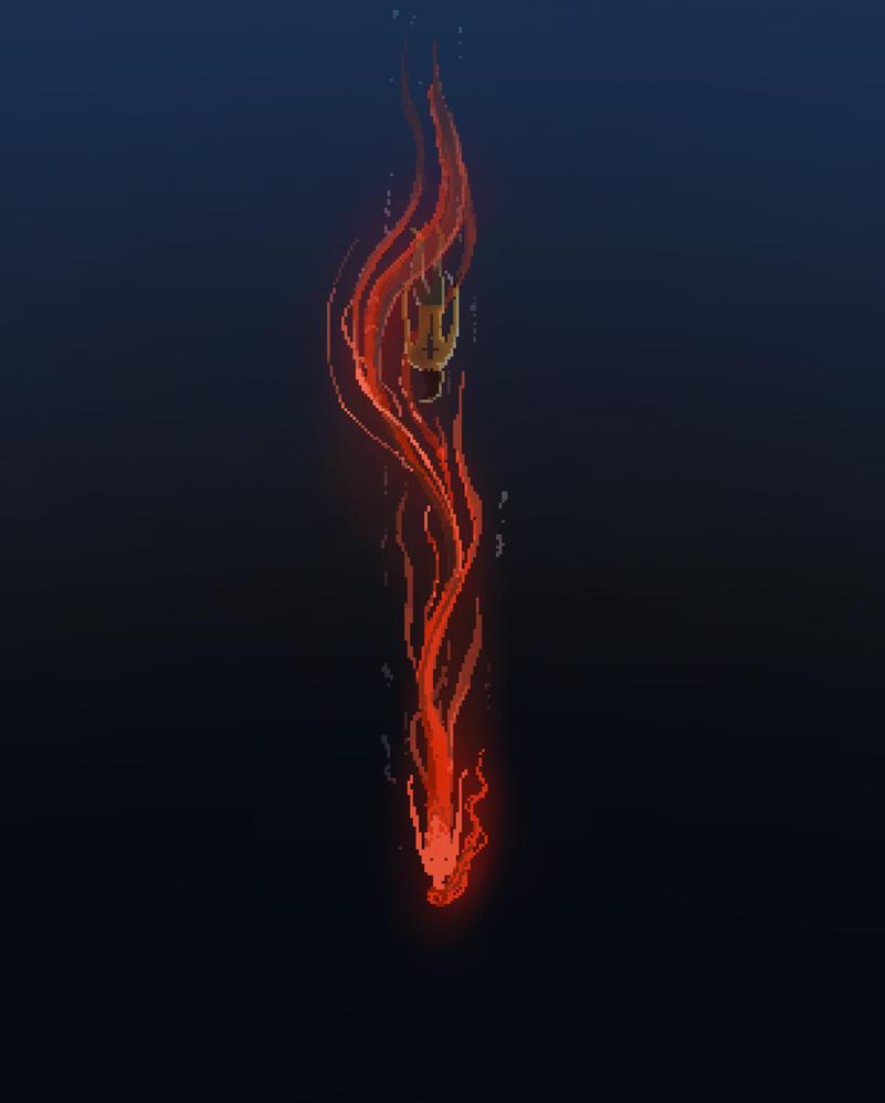 arjoj floating around with his mermaid... Composit by esfandiarcat