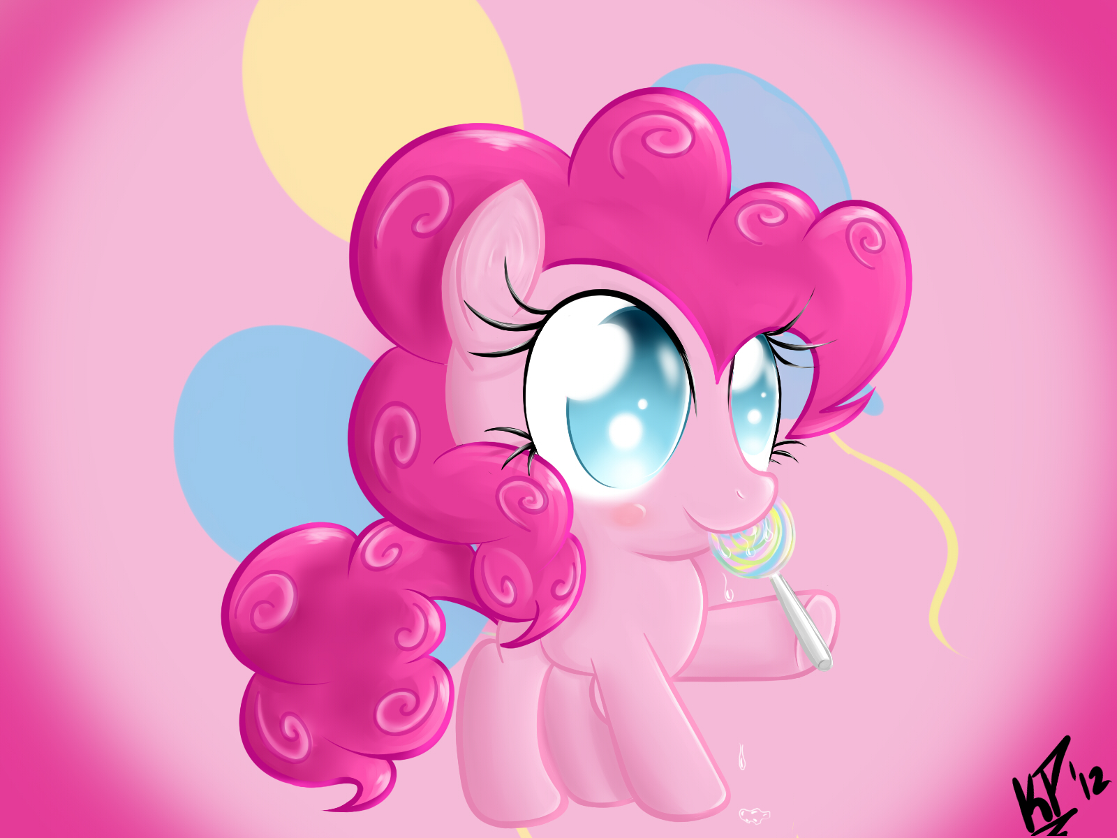 Pinkie Pie Filly by KinkiePied