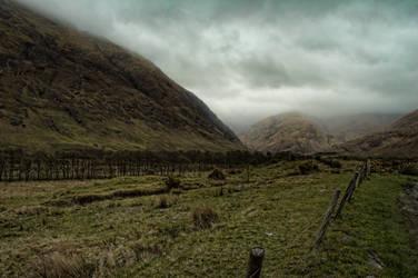 Scottish Landscape by mcleodan