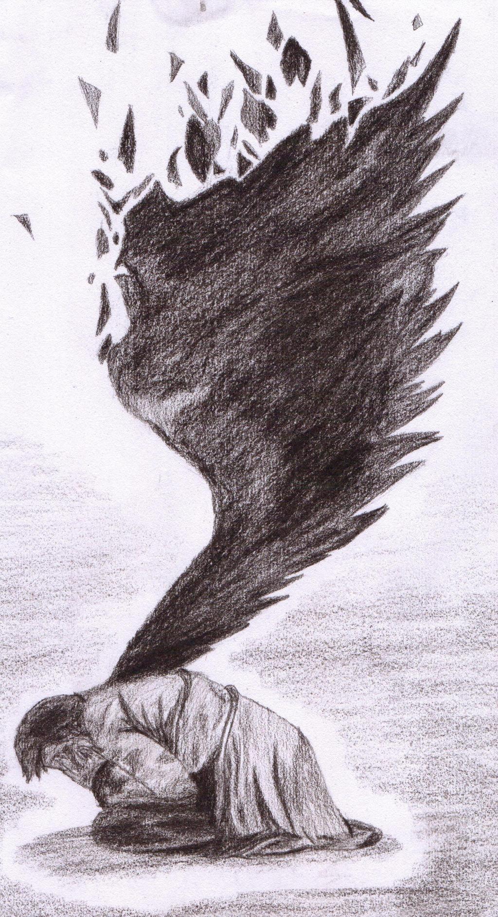 Supernatural - Castiel by Hikikokana
