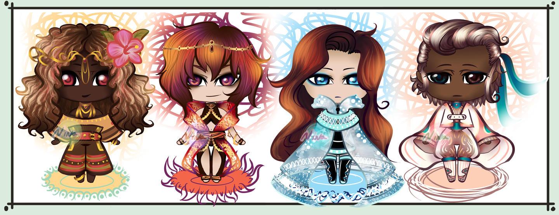 Element Girls.De Spiele