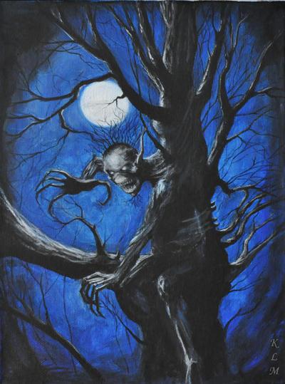 Iron Maiden - Fear of The Dark by Khanta