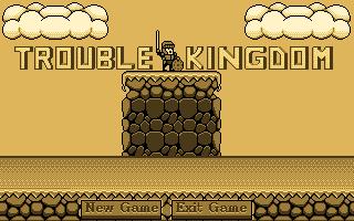 Trouble Kingdom Main menu