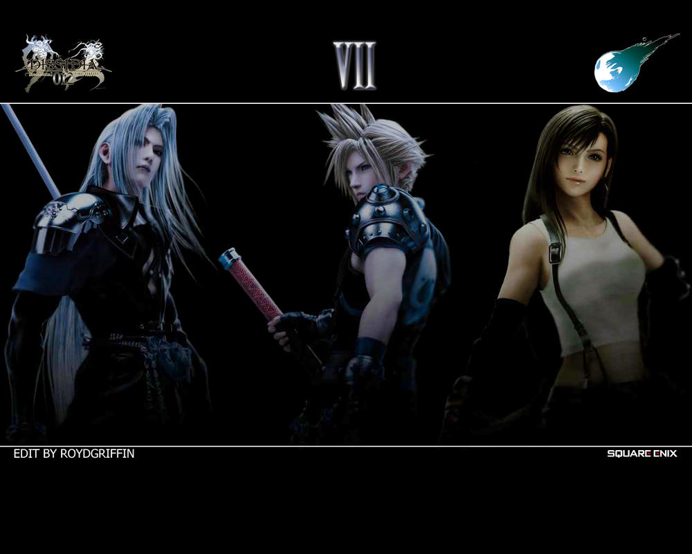 Dissidia 012 Wallpaper VII by RoydGriffin