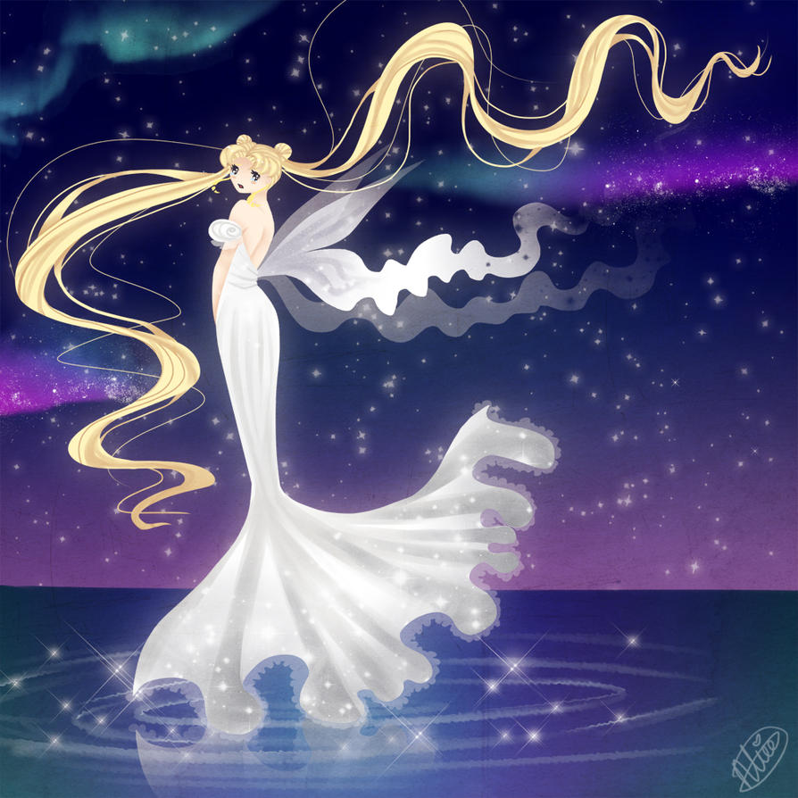 Moon princess by McMugget