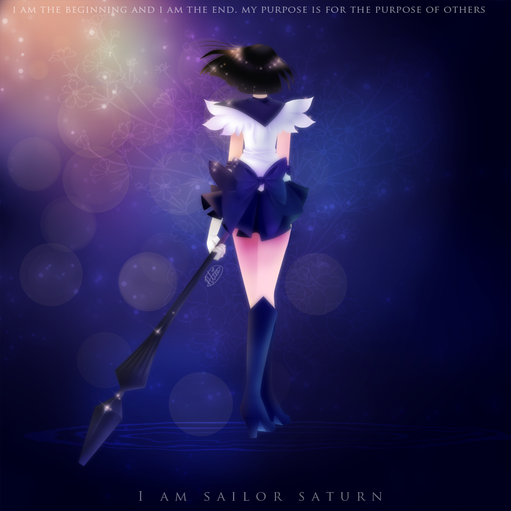 Sailor Saturn by McMugget