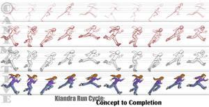 Kiandra Run Cycle Frames by Animative