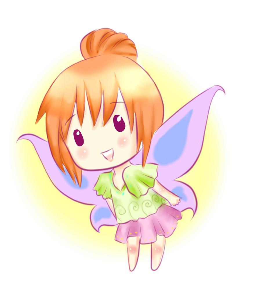 chibi anime girls fairy - photo #7