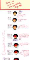 How to color an anime eye