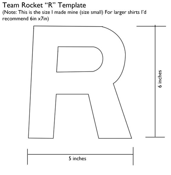 Team Rocket R Template By Kaira27 On Deviantart