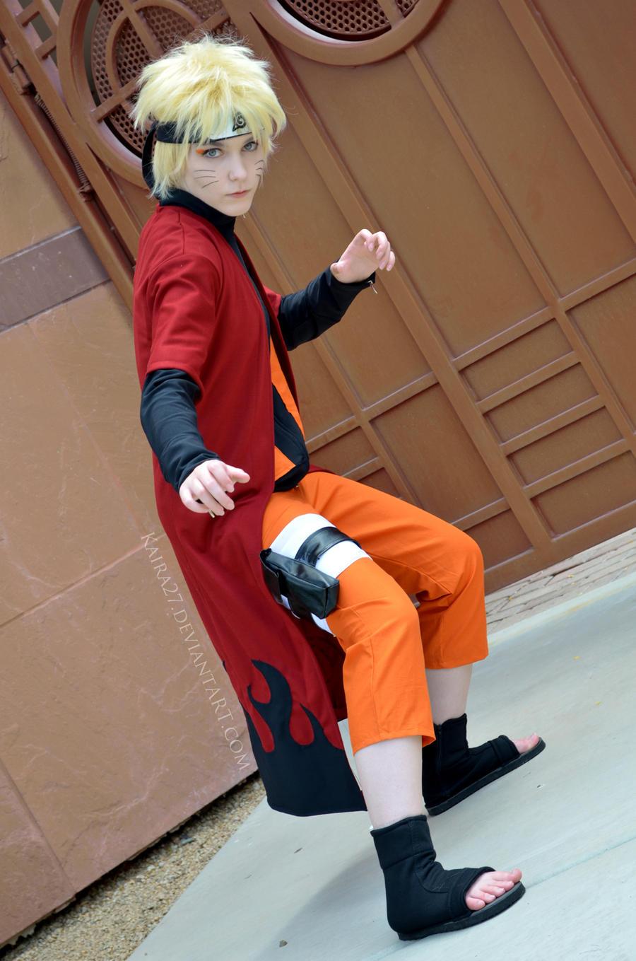 Naruto: Fighting Stance by Kaira27