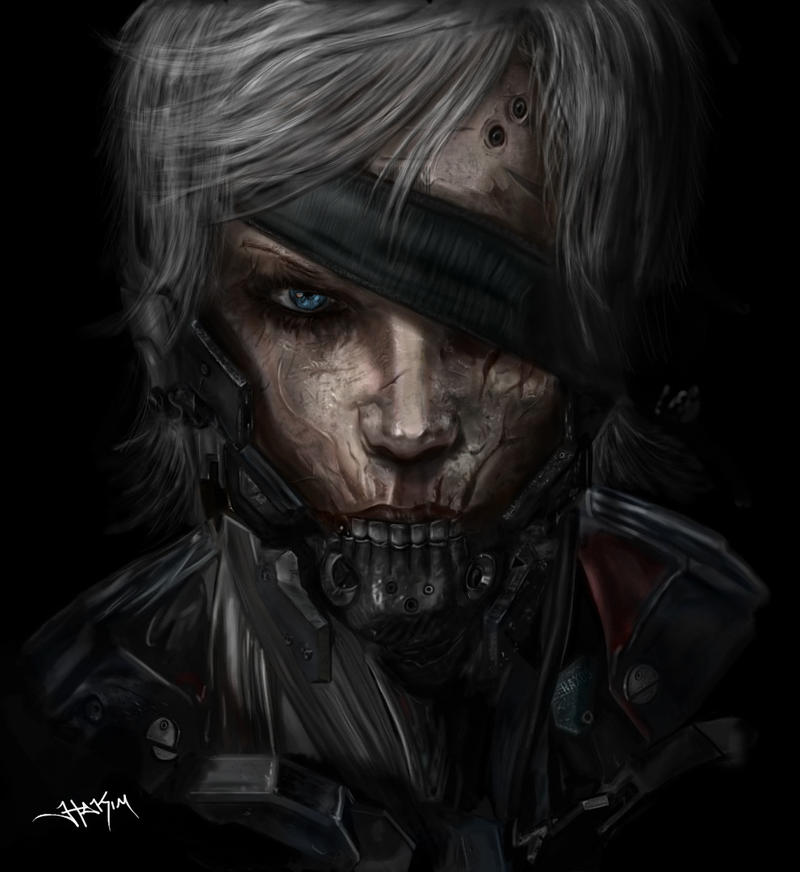 Ninja Raiden Metal Gear Solid by Hax09