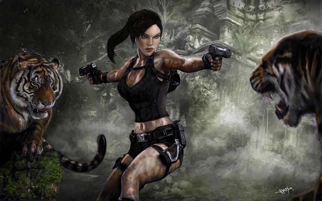 Tomb Raider Underworld By Hax09 On DeviantArt