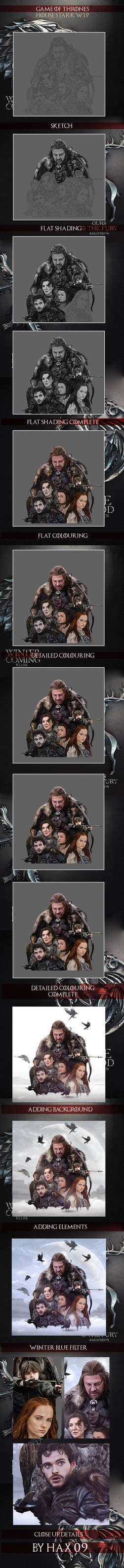 House Stark: Game of Thrones W.I.P