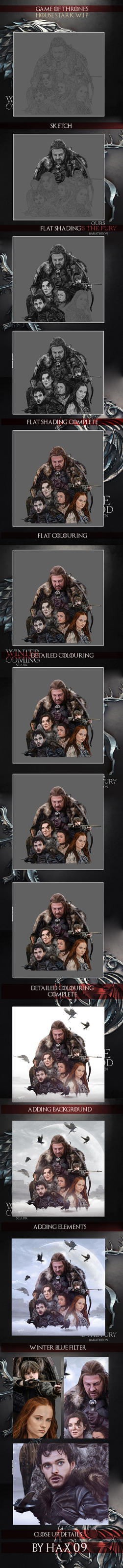 House Stark: Game of Thrones W.I.P by Hax09