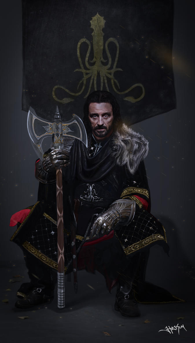Victarion Greyjoy - Lord Captain of The Iron Fleet by Hax09