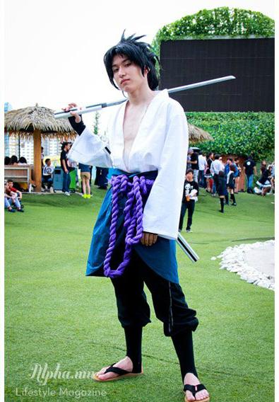 Uchiha Sasuke Shippuden Cosplay
