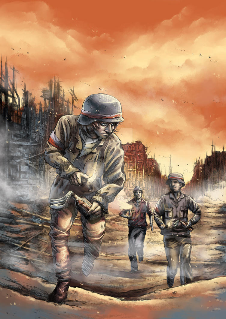 Little Freedom Fighter - Warsaw Uprising by Yanosik