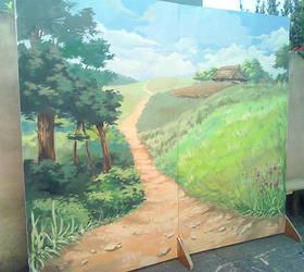 Scenography - Finished Landscape by Yanosik