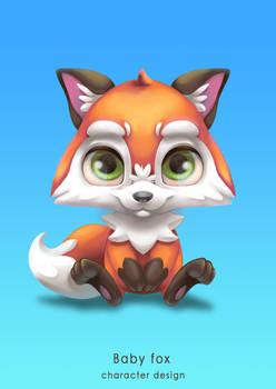 Baby Fox Character Design