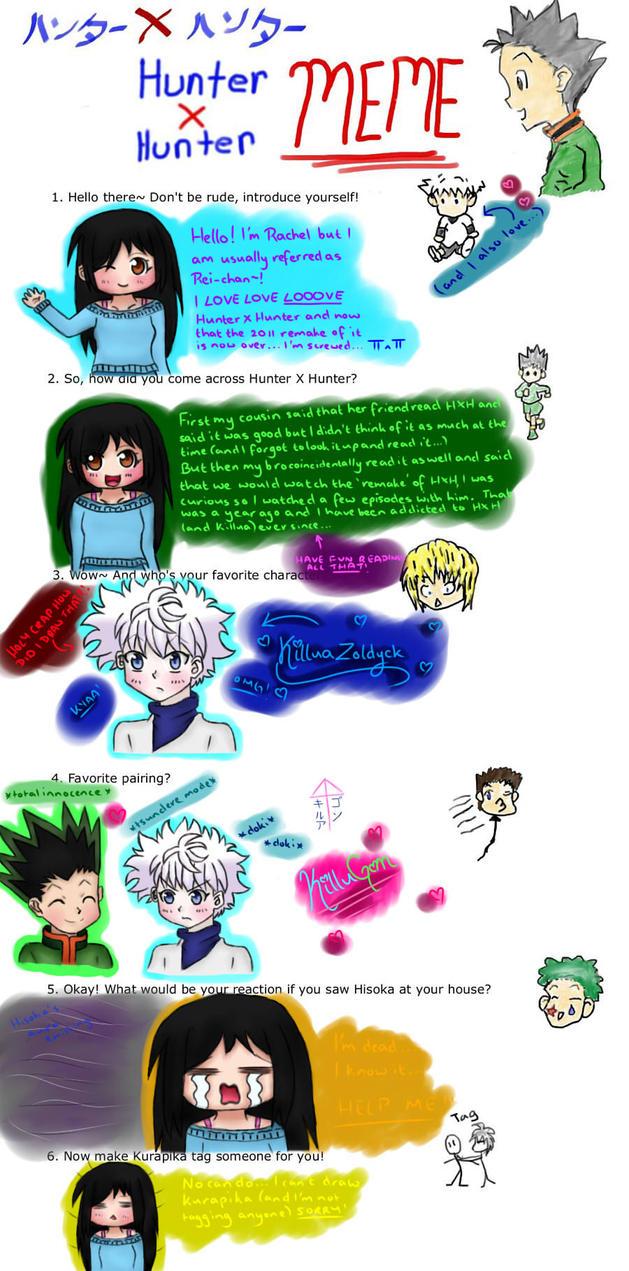 Hunter X Hunter Meme~! by NaruSakuFan4EVA