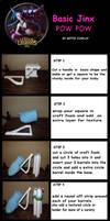 POW POW JINX LOL Basic Tutorial by AnneTSeptik