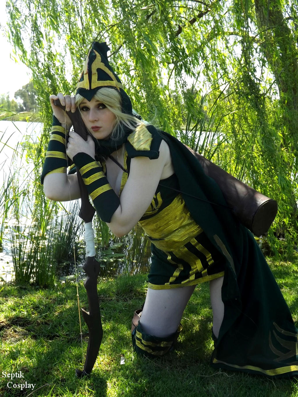 Sherwood Forest Ashe 2- League Of legends Cosplay by ...