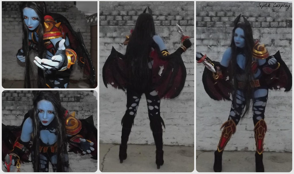 queen of pain cosplay ti4 - photo #34