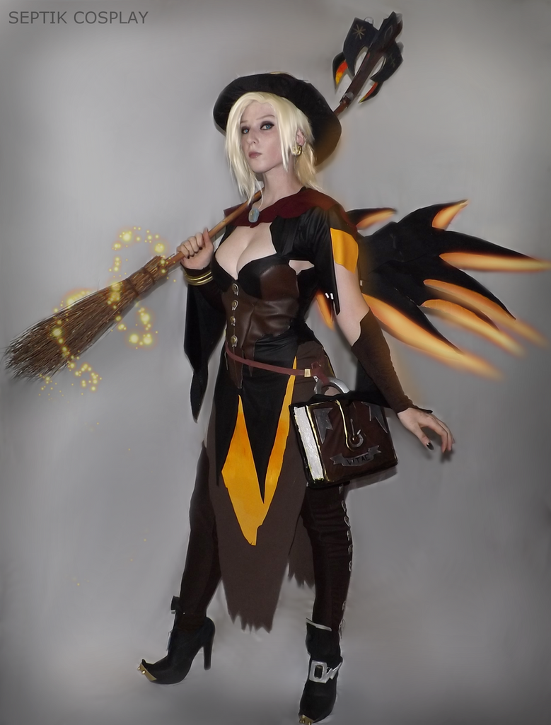 Witch Mercy by AnneTSeptik