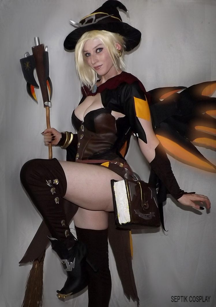 Witch Mercy III by AnneTSeptik