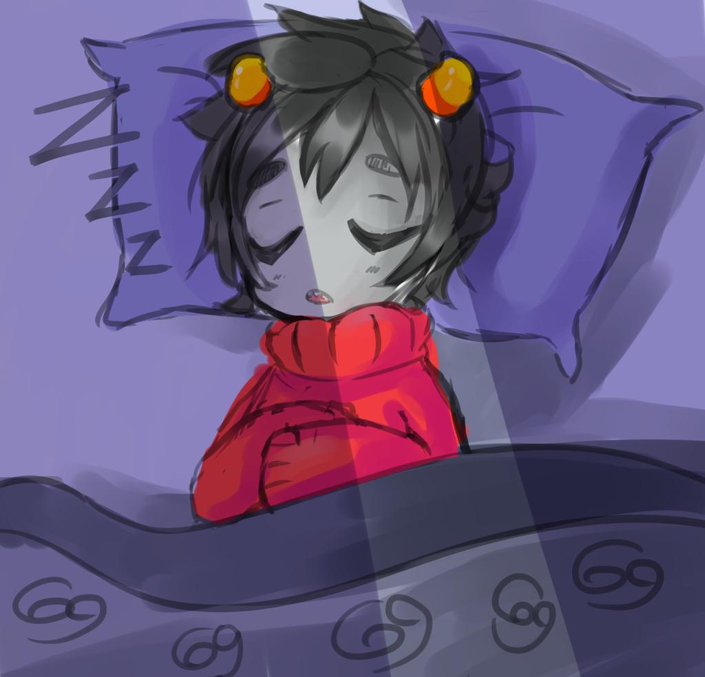 Kankri Bed Time by AkatsukiCat