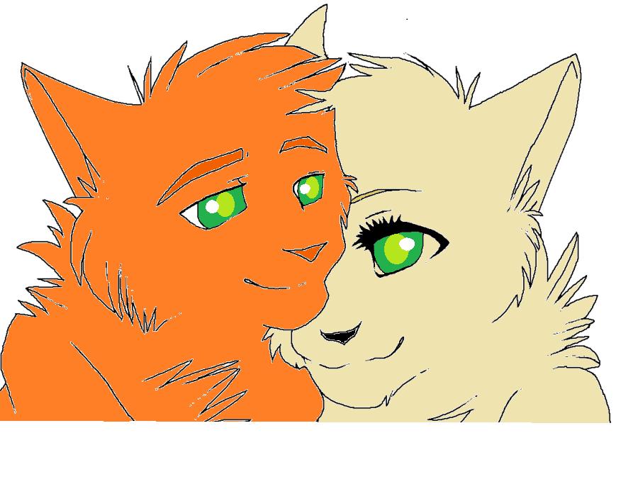 firestar x sandstorm unfinished warrior cats by