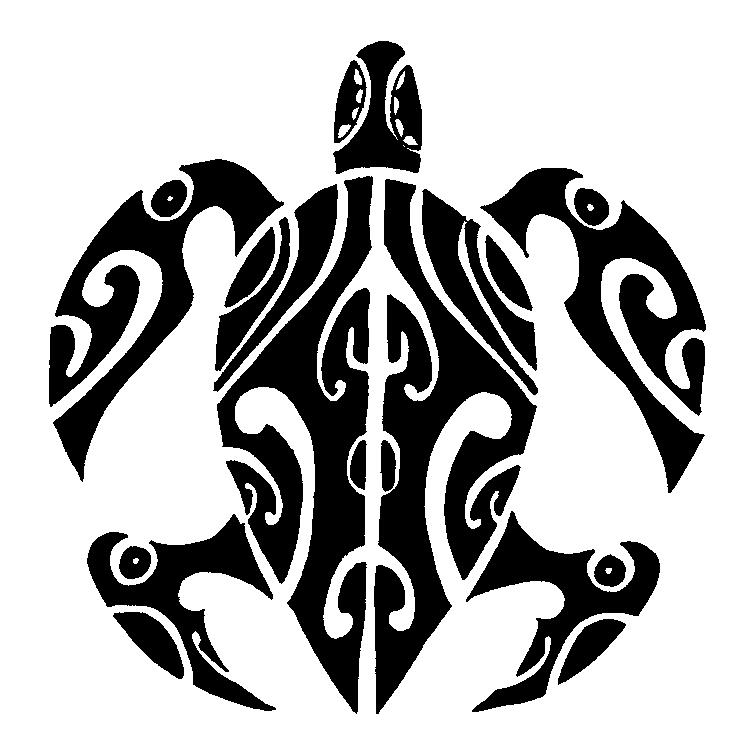 Tribal turtle by bexy1990 on deviantart for Tribal tattoo shops near me