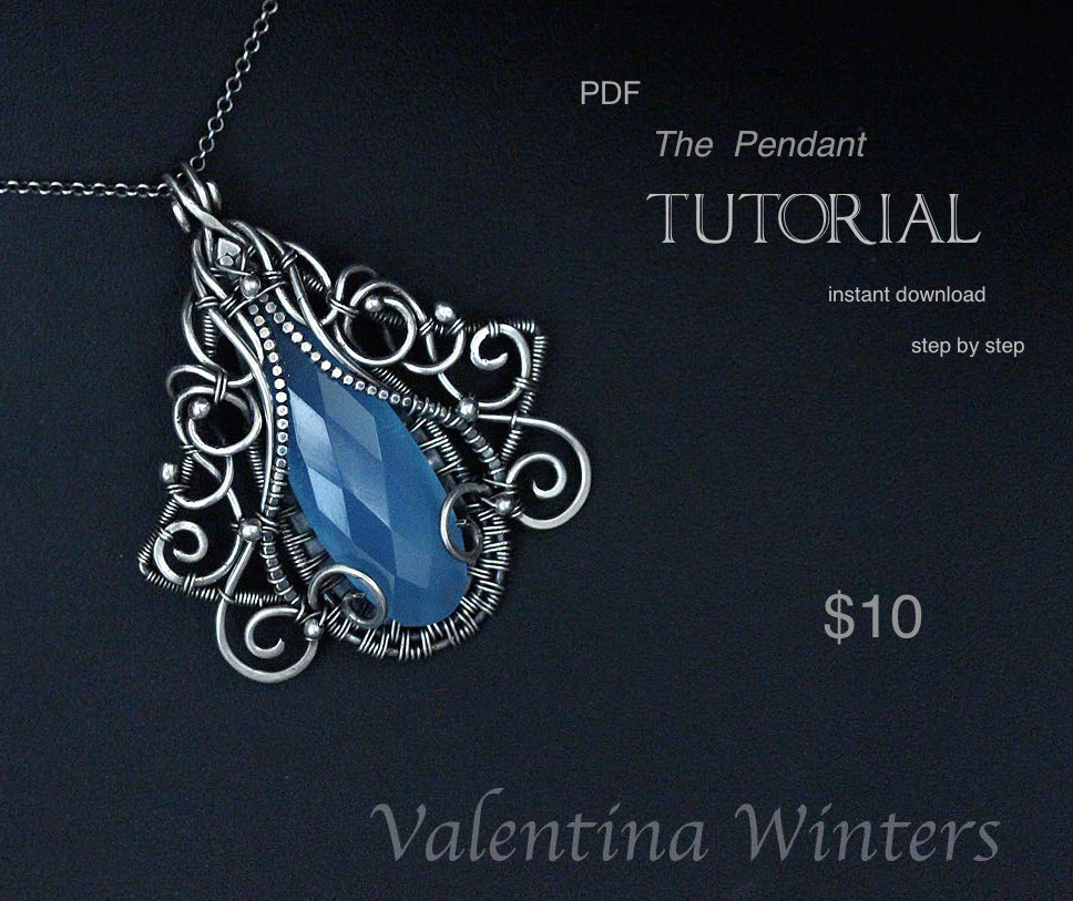 Jewelry tutorial wire wrapped tutorial by wval on deviantart jewelry tutorial wire wrapped tutorial by wval aloadofball Choice Image