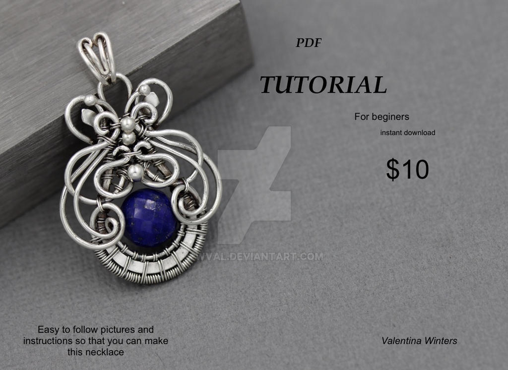 Jewelry Tutorial, Wire Wrapped Tutorial by WVal on DeviantArt