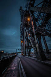 portland steel bridge by MarchCoven