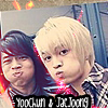 jaejoong and yoochun icon by allianne
