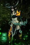 Demon Hunter Valeera Cosplay