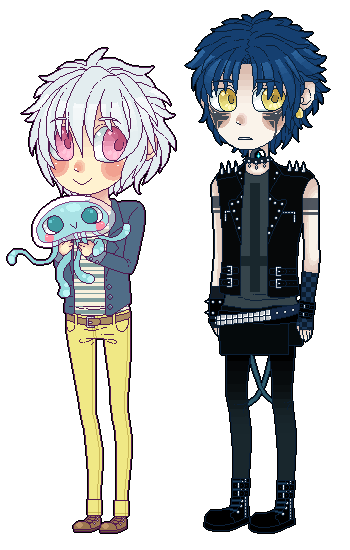 Dmmd chibi set 3 by DiniZee