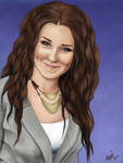Portrait: Andrea by eykeey