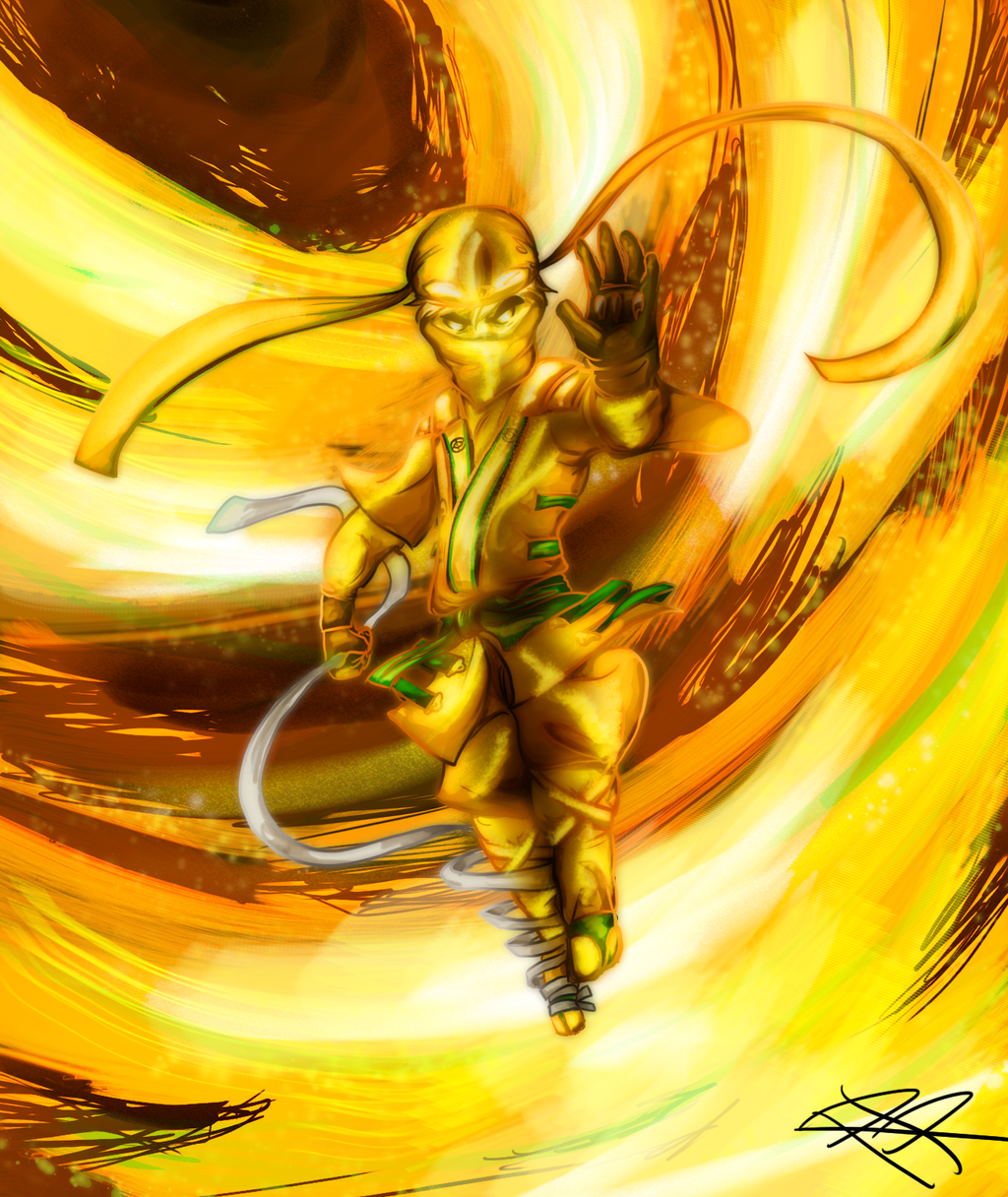 Gold Ninja by RRproAni on DeviantArt