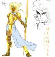 Archangel Michael by RRproAni